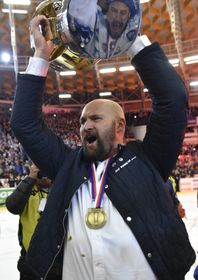 Coach Libor Zábranský, photo: CTK