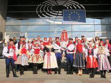 Jízda králů ze Slovácka se představila v Bruselu, foto: Barbora Janečková, Evropský parlament