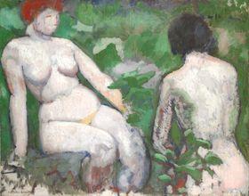 Marcel Duchamp, 'Deux nus', 1910, photo: Centre Pompidou - Musée national d'art moderne, Paris