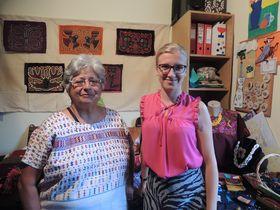 Julia Concha (a la izquierda), foto: Julia Rios