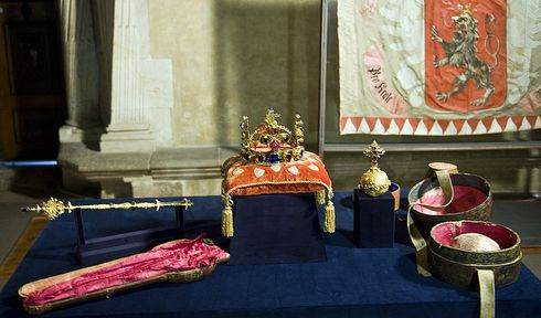 Czech crown jewels, photo: Filip Jandourek