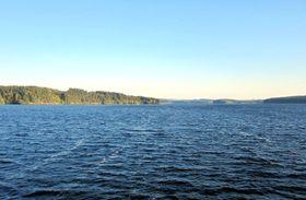 Vodní nádrž Švihov (Želivka), foto: Martin Němec