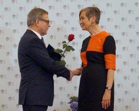 Lubomír Zaorálek, Georgina Sehnoutka Steinsky, photo: Miloš Turek