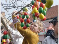 Easter egg tree, photo: CTK