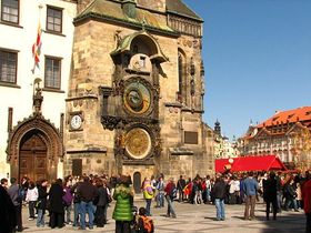Prague's Astronomical Clock, photo: Kristýna Maková
