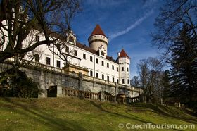 Замок Конопиште, фото: CzechTourism