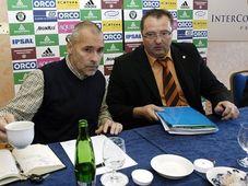 Zdeněk Haník (vlevo) a Antonín Lébl, foto: ČTK