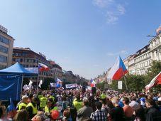 SPD-Anhänger (Foto: Lukáš Vrána, CC BY-SA 4.0)