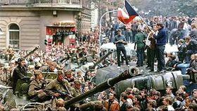 Août 1968 à Prague, photo: ČT24