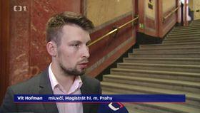 Vít Hofman, foto: ČT