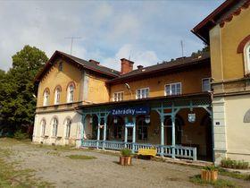 Bahnhof in Zahrádky u České Lípy (Foto: Markéta Kachlíková)