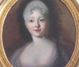 Елизавета Петровна на полотне Луи Каравака