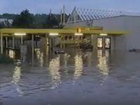Station Invalidovna unter Wasser (Foto: Tschechisches Fernsehen)