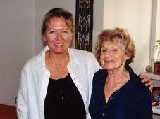 Helena Treštíková, Heda Margolius Kovály, photo: Czech Television