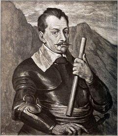 Albrecht zValdštejna, autor: Anthonis van Dyck