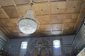 Замок Шкворец, помещение, где некогда располагалась синагога, Фото: Катерина Айзпурвит, Чешское радио - Радио Прага