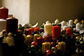 Czech Christmas candles, photo: Vít Pohanka