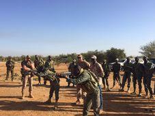 La présence militaire tchèque au Mali, photo: AČR / Mali-EUTM / Site officiel de l'Armée tchèque