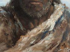 Неандерталец: Рисунок Петра Модлитбы