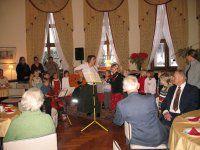 Konzert im Kuppelsaal des Lobkowicz-Palais