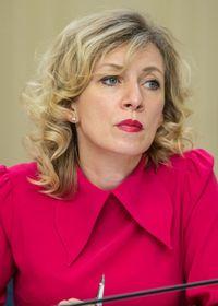 Мария Захарова, фото: CC BY 4.0