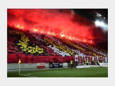 Les supporters du Slavia Praha à l'Eden Aréna, photo: ČTK