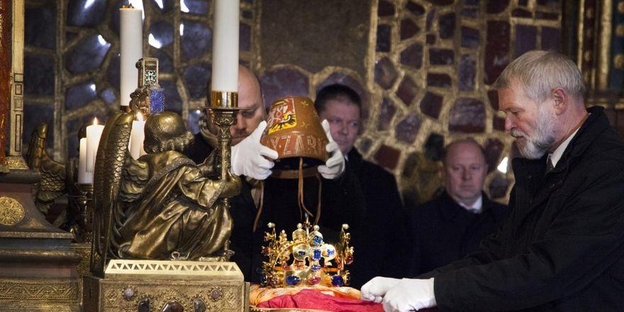 Exposition des joyaux de la couronne de Bohême, photo: Michaela Danelová, ČRo