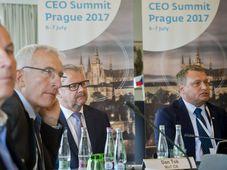 Bahnchefs haben sich in Prag getroffen (Foto: ČTK)
