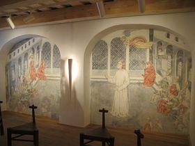 Kostnický koncil vyobrazený na stěně Husova památníku vHusinci, foto: Martina Schneibergová