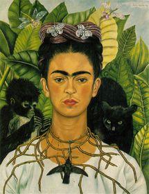 Frida Kahlo, pintura de Frida Kahlo