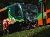 Deux trains de la compagnie GW Train sont entrés en collision, photo: ČTK
