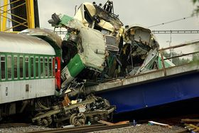 L'accident ferroviaire de Studénka, photo : Jiří Karlík, CC BY 2.0