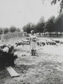 Doris Grozdanovičová in Terezín, photo: archive of Doris Grozdanovičová