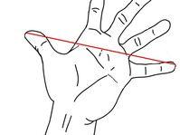Handspanne - píď (Quelle: Cactus26, Wikimedia CC BY-SA 3.0)