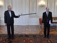 Miloš Zeman et Bohuslav Sobotka, photo: ČTK