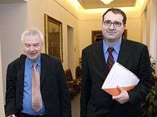 Miloš Melčák (vlevo) a Michal Pohanka, foto: ČTK