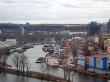 Hafen in Prag-Holešovice (Foto: Martin Pauer, Public Domain)