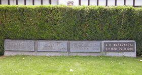 Семейная могила Масариков, Фото: Антон Каймаков, Чешское радио - Радио Прага