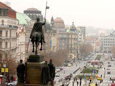 Прага - Вацлавская площадь, фото: Штепанка Будкова