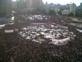 Le Printemps arabe au Caire, photo: Mona, CC BY 2.0