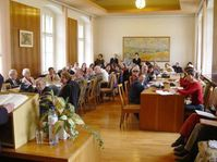 Autorenlesung in Olomouc/Olmütz