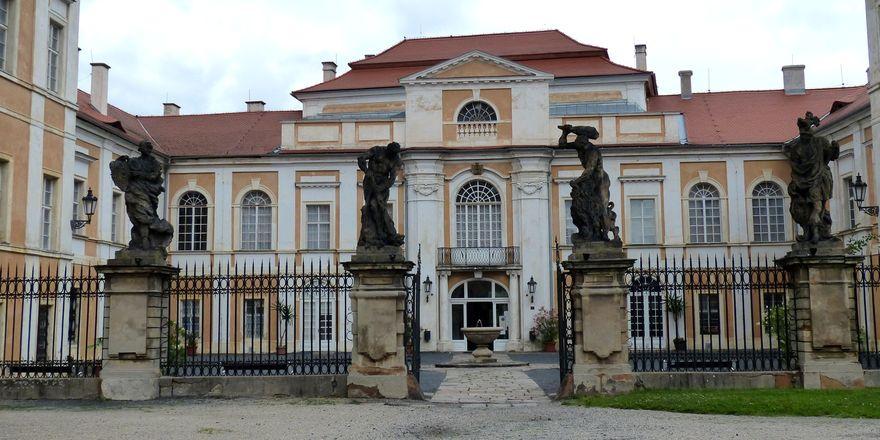Castillo de  Duchcov, foto: Klára Stejskalová