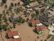 La grande crue de 1997, photo: ČT24