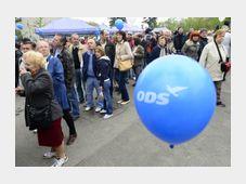 Fiesta del Partido Cívico Democrático en la céntrica Colina de Petřín, foto: ČTK
