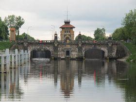 Schifffahrtskanal Vraňany-Hořín (Foto: Archiv des Tschechischen Rundfunks - Radio Prag