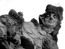 La statue de sainte Ludmila sur le pont de Charles IV, photo: Štěpánka Budková