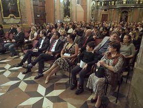 Auditorio de Aisha Syed, foto: Jan Juránek, Consulado Dominicano