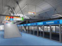 «Панкрац», фото: Metroprojekt - novemetro.cz