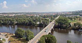 Libeň Bridge, photo: KarelJ, Public Domain