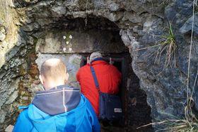 Вход в браницкое подземелье, Фото: Милош Турек, Чешское радио - Радио Прага